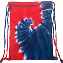 Wholesale Tie Dye Sport Bags - SPIRAL ROYAL RED