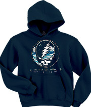 Wholesale Graphic Fashion Clothing Apparel - Steal Your Sky And Space Navy Hoodie