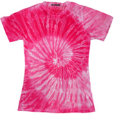 Sublimation Tie Dye T Shirts Ladies Wholesale - 1555-670-S