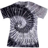 Sublimation Tie Dye T Shirts Ladies Wholesale - 1555-671-S