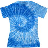Sublimation Tie Dye T Shirts Ladies Wholesale - 1555-672-S