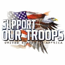 Wholesale T Shirts Hats, Military Tee Shirts, Support Our Troops - A11721A