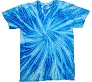 Wholesale Tie Dye T Shirts Suppliers - NEON BLUEBERRY