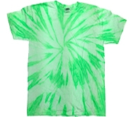 Wholesale Tie Dye T Shirts Suppliers - NEON KIWI