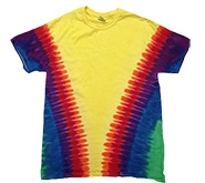 Wholesale - Tie Dye T Shirts - VEE RAINBOW