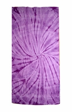 Tie Dye Beach Towels Wholesale - SPIDER LAVENDER
