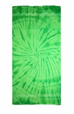 Tie Dye Beach Towels Wholesale - SPIDER LIME