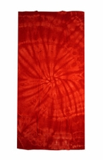 Tie Dye Beach Towels Wholesale - SPIDER RED