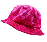Bulk Wholesale Bucket Hats Tie Dye Suppliers - Spider Pink