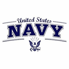 Wholesale Clothing Apparel Military T-Shirts Bulk Supplier - U.S. Navy W Logo a12349c