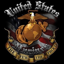 Wholesale T Shirts, Custom Clothing - United States Marines a11668a