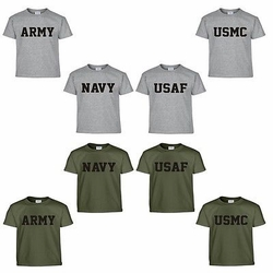 Wholesale Military T Shirts - US Army Navy Air Force USAF Marines