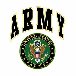 Screen Printed Military T Shirts - Us Army Seal Crest a9996e Wholesale Military Patriotic T Shirts Bulk