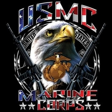 Wholesale Usmc Marine Corps T Shirts Military - a11653a