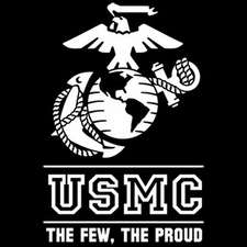 Wholesale T Shirts Hats, Military Tee Shirts, Usmc The Few The Proud - a11729c