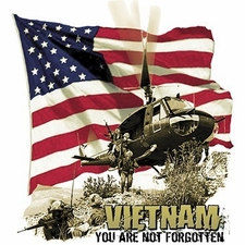 Wholesale T Shirts Hats, Military Tee Shirts, Vietnam -Not Forgotten - a8432e
