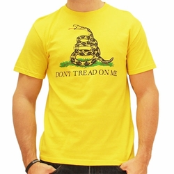 Screen Printed Military T Shirts - Wholesale Bulk Suppliers - Don't Tread On me T Shirts, Wholesale T Shirts - W13624-10