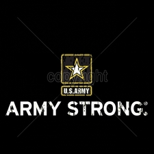 Wholesale Apparel - Military T-Shirts - 12x5-army-strong-army-star-distressed-look