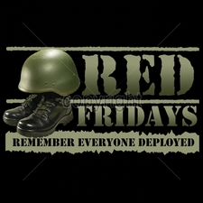 Wholesale Apparel - Military T-Shirts - 12x7-red-fridays-remember-everyone-deployed