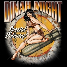Wholesale Apparel - Military T-Shirts - 15058-12x14-dinah-might-special-delivery