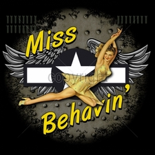 Wholesale Apparel - Military T-Shirts - 15059-13x12-miss-behavin