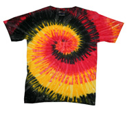 Wholesale - Tie Dye T Shirts - KINGSTON