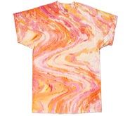 Wholesale Tie Dye T Shirts Suppliers - MARBLE LOLLYPOP