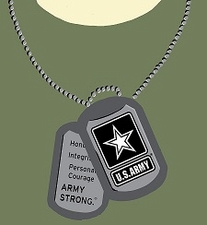 Wholesale Army T-Shirts - _Transfermations_USArmyLargeDogTag
