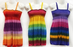 Wholesale Clothing Suppliers - Clothing Wholesalers - Apparel Wholesalers & Suppliers - Dress2218A. Wholesale Kids Simple Strap Multicolor Dresses