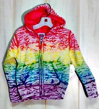 Wholesale Bulk Clothing Suppliers - #697 Girls Burnout Zipper Hood(Size 3-6 to 18-24 mos) - $7.90 each(15