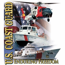 Bulk T Shirts Military Fashion - Wholesale - Military T Shirts - Coast Guard a12820a