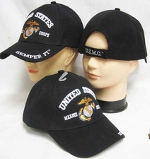 Wholesale Bulk Hats Military Fashion - US Marines Hats Wholesale - C636AB