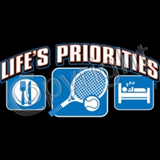 Wholesale Bulk Products T Shirts Clothing Wholesalers - 06258-LifesPriorTennis