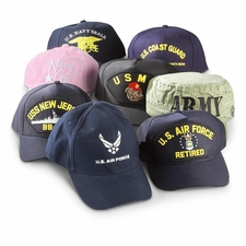 Wholesale Embroidered Military Baseball Caps - Mix