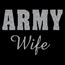 Wholesale Military T Shirts - Army Wife T Shirts a111066