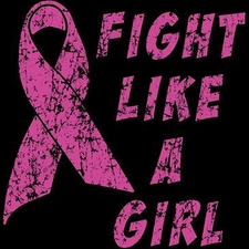 Wholesale T-Shirts Cancer Supplier Bulk - Fight Like A Girl a8846e