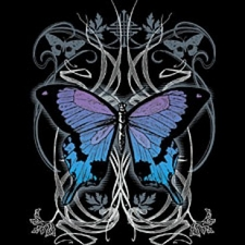 Wholesale T-Shirts Bulk Goth Butterfly Supplier - a11002d