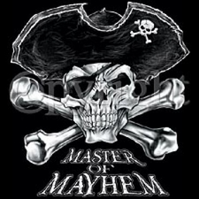 Wholesale T-Shirts Bulk Supplier - Master Of Mayhem~Pirate a1063c