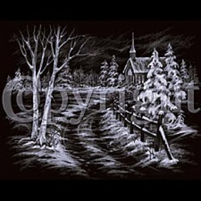 Wholesale T-Shirts Bulk Supplier - Snowy Road To Church a10276c