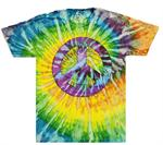 Tie Dye Peace Sign T Shirts Wholesale Suppliers - Peace Sign Custom Clothing, Bulk - TD01_1