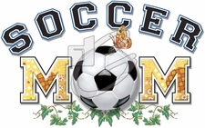 Wholesale Clothing Apparel Cheap Online Sports Soccer Mom T-Shirts - P-447