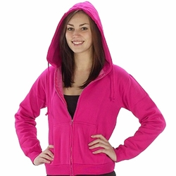 Wholesale Clothing Suppliers - Junior Miss Zip Front Hoodies - 24 Piece Pre-Pack  $8.50 pc.