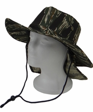 Wholesale Custom Outdoor Hats - CP-047 Tiger Camo Flap Boonie.jpg