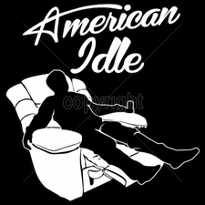 Wholesale Custom Printed Funny Vintage T Shirts - 16512-10x11-american-idle