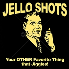 Wholesale Custom Printed Funny Vintage T Shirts - 16533-13x13-jello-shots-your-other-favorite-thing-jiggles