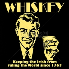 Wholesale Custom Printed Funny Vintage T Shirts - 16535-11x12-whiskey-keeping-irish-ruling-world-1763