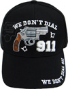 Wholesale Embroidered Military Baseball Caps - Gun We Dont Dial 911