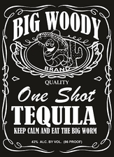 Funny T Shirts - BigWoodyTequila_CaptJack01White