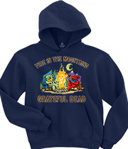 Wholesale Hoodies Graphic Suppliers - Fire In The Mountain Navy Hoodie
