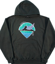 Wholesale Hoodies Graphic Suppliers - GD Star Cat Green Hoodie